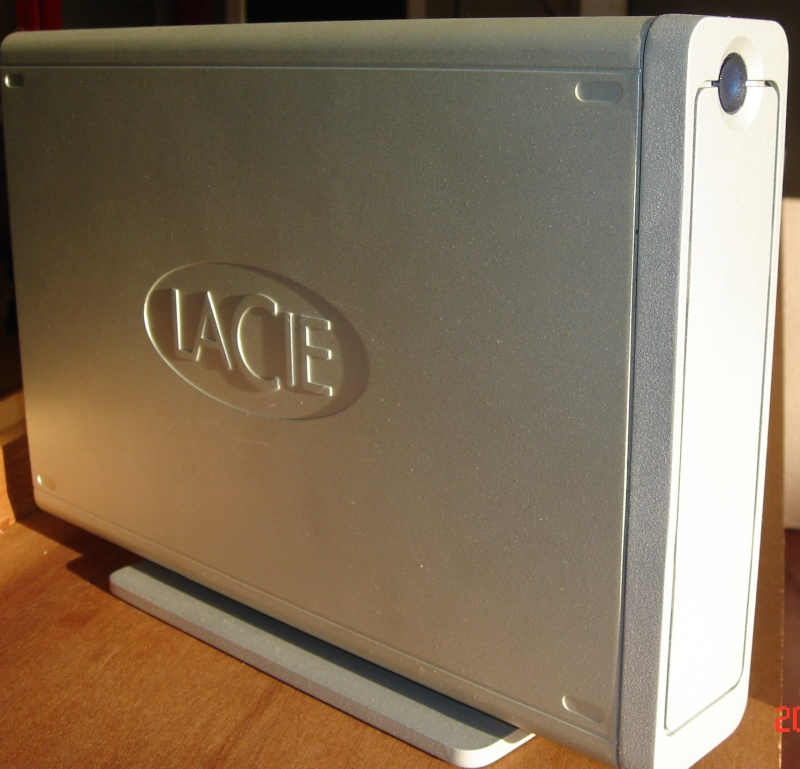 A lacie ethernet big disk awaiting data recovery.