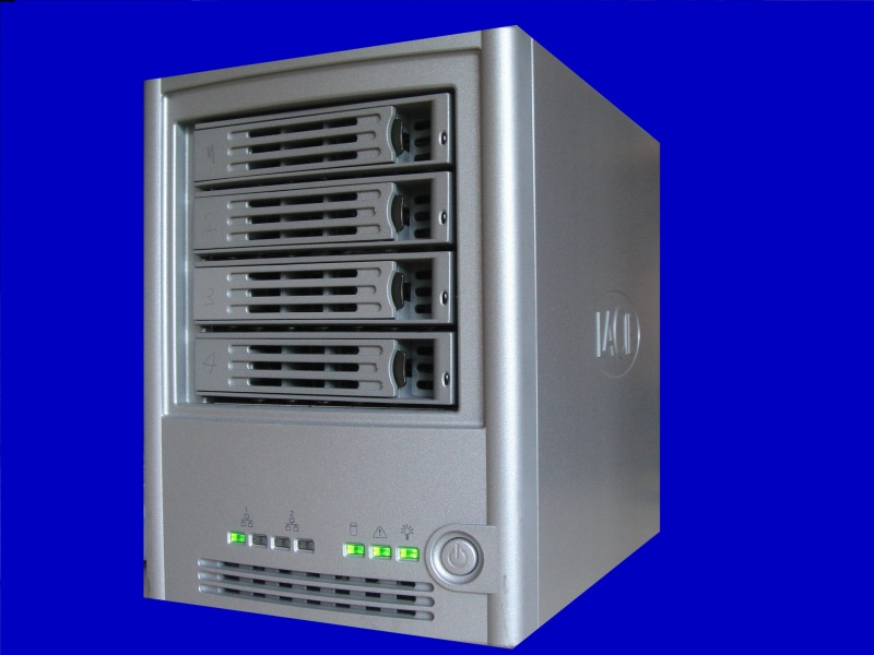 A Lacie Ethernet Disk with 4 drives formaing a Raid 5 configuration. The drive can not be accessed via the network or web browser as the raid definition has been corrupted.