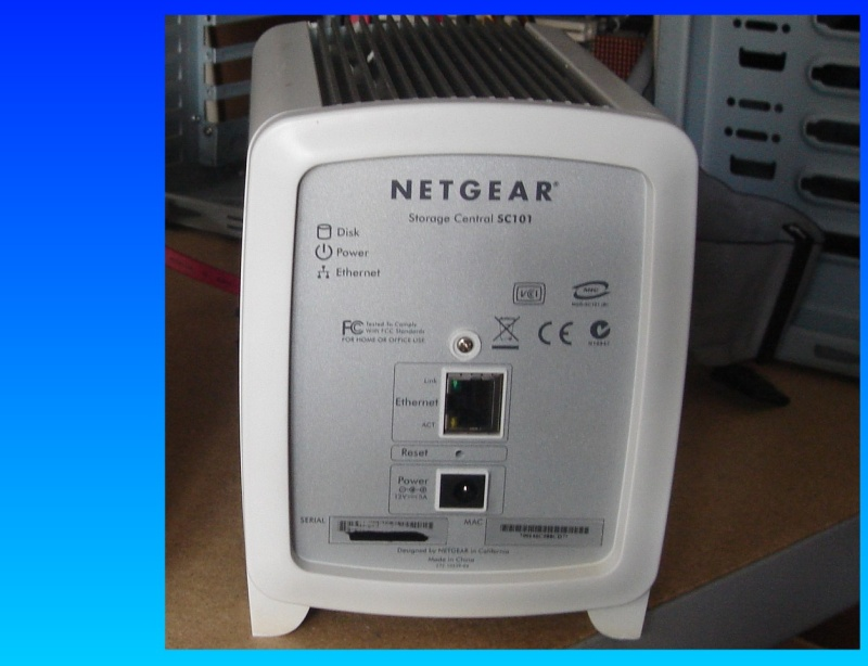 An SC101 by netgear that was not seen on the network after a firmware upgrade.