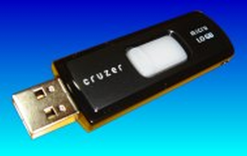 A Sandisk Cruzer USB flash drive that was suspected of suffering a power surge and was no longer recognised the computer. This one is ready for repair at our office.