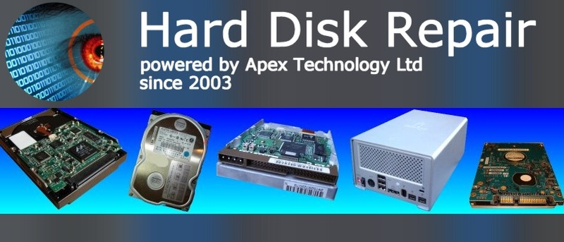 We can repair an HDD that is not spinning up or appears dead when powered. The drive may appear quiet or silent after turn on.
