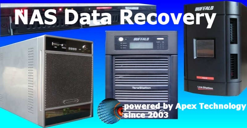 Data recovery from NAS device, including Synology ecovery, Raid spanning problem