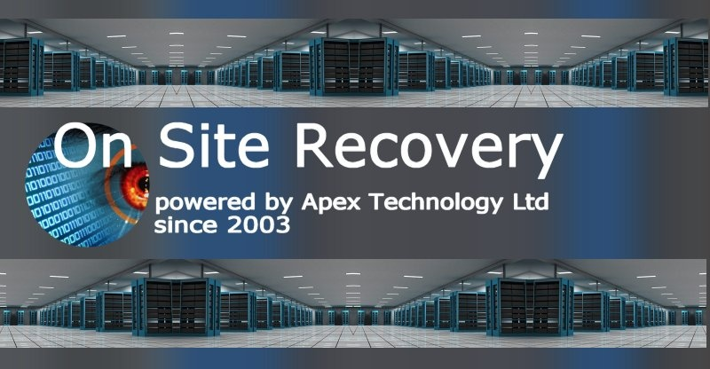 On Site Data Recovery from Raid, Nas, Virtual Servers.