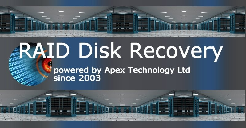 Raid Array Repair and Disk Data Recovery.