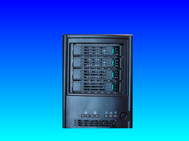 An SS4000e intel server nas box where the share folders were not accessible from the LAN network.