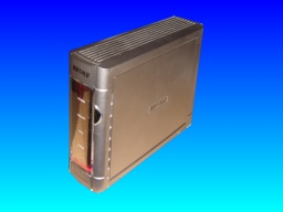 A Linkstation Live that was made by Buffalo and is presently waiting for data recovery and file access repair.