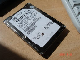 An Hitachi Travelstar Laptop 2.5inch hdd awaiting repair.