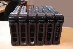SCSI RAID Linux Redhat rebuild