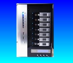 Thecus N7700 data recovery raid rebuild