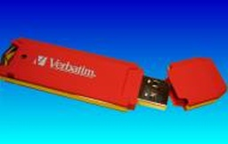 A red Verbatim USB memory stick which complained Drive not recognisedso the customer sent it to us for data recovery.