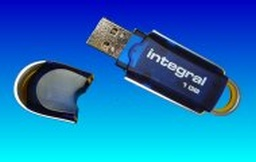 A USB Integral 16GB pen drive which was not recognised by the computer. It had intermittent connection to the computer which was repaired by us so the files could be copied off.