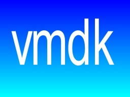 A vmdk sign showing data recovery of vmdk files from virtual VMWare server.