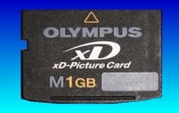 An olympus XD card in for data recovery.